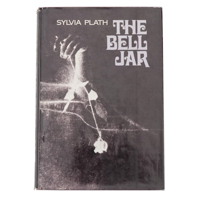 "First American Edition, Later Printing ""The Bell Jar"" by Sylvia Plath, 1971"