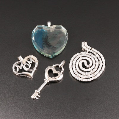 Assorted Sterling Silver Pendants