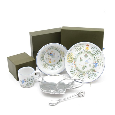 Pavillon Christofle and Mariposa Children's Dinnerware