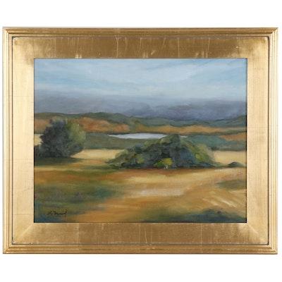 Landscape Oil Painting, 21st Century