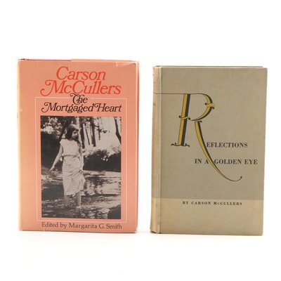 "First Edition Carson McCullers Books Including ""Reflections in a Golden Eye"""