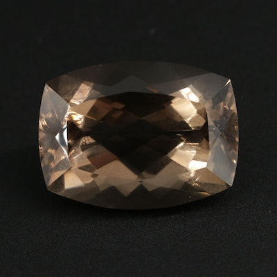 Loose 19.29 CT Smoky Quartz Gemstone