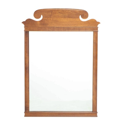 Heywood-Wakefield Colonial Style Birch Mirror, Mid-20th Century