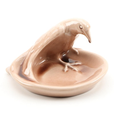 "Rookwood Art Pottery ""Rook"" Ashtray, 1958"