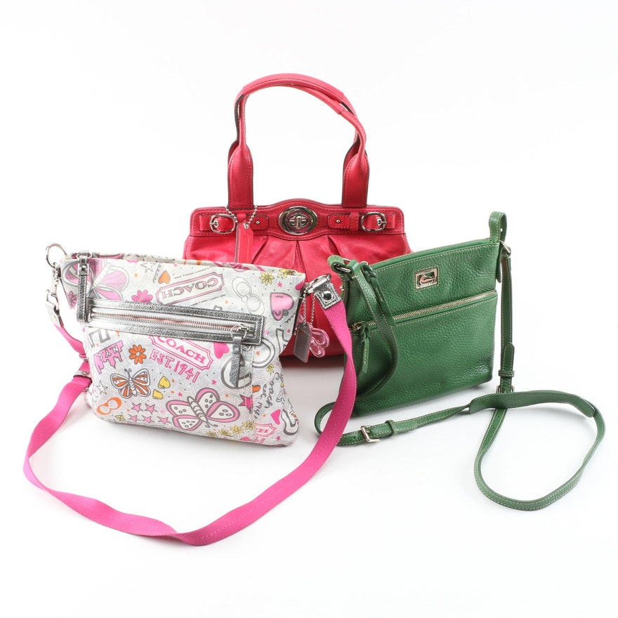 Coach and Dooney & Bourke Top Handle and Crossbody Bags