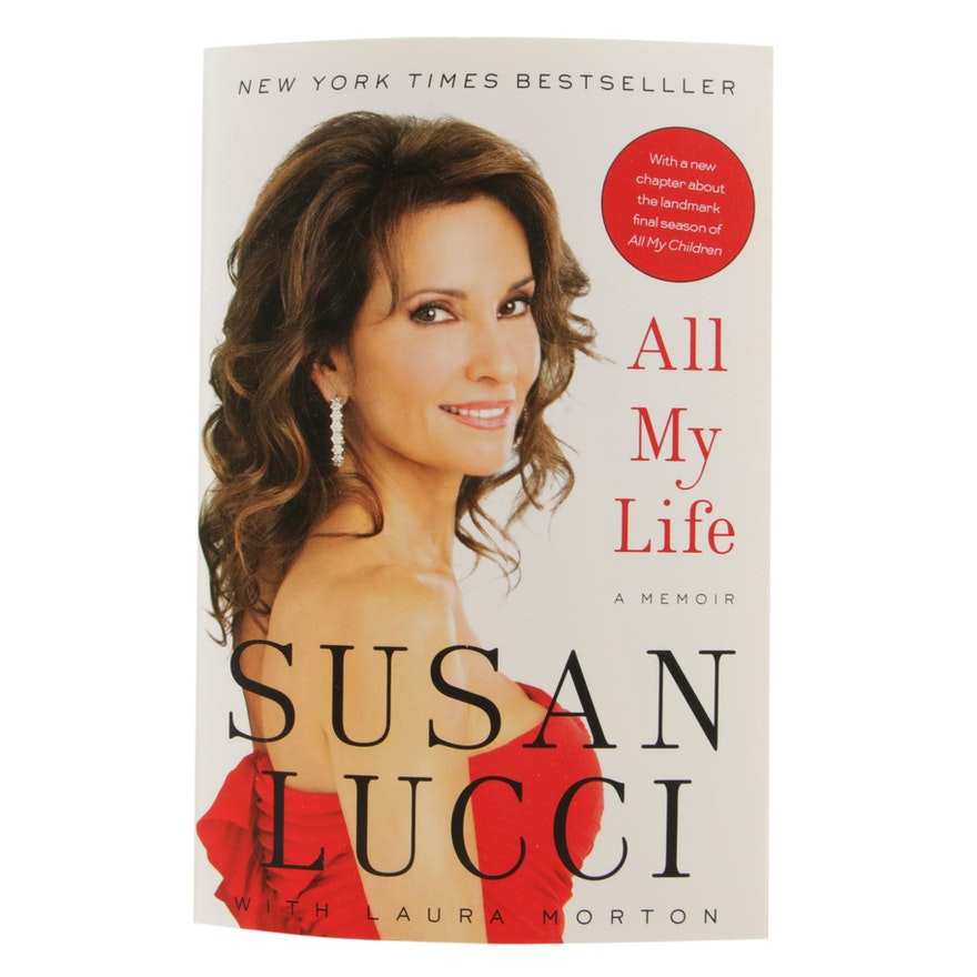 "Susan Lucci Signed ""All My Life: A Memoir"", 2011"