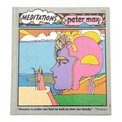 "Illustrated ""Meditations"" by Peter Max, 1972"