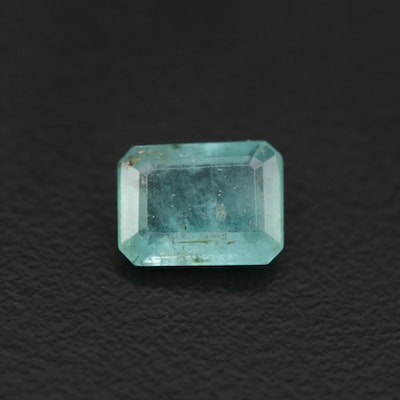 Loose 1.43 CT Emerald Gemstone