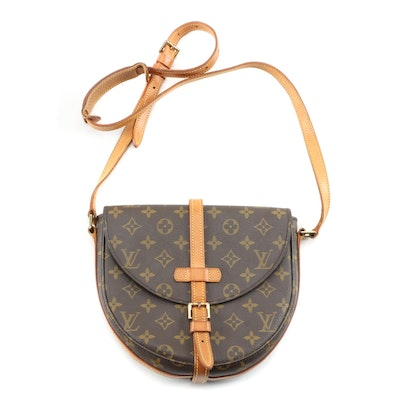 Louis Vuitton Chantilly in Monogram Canvas and Vachetta Leather