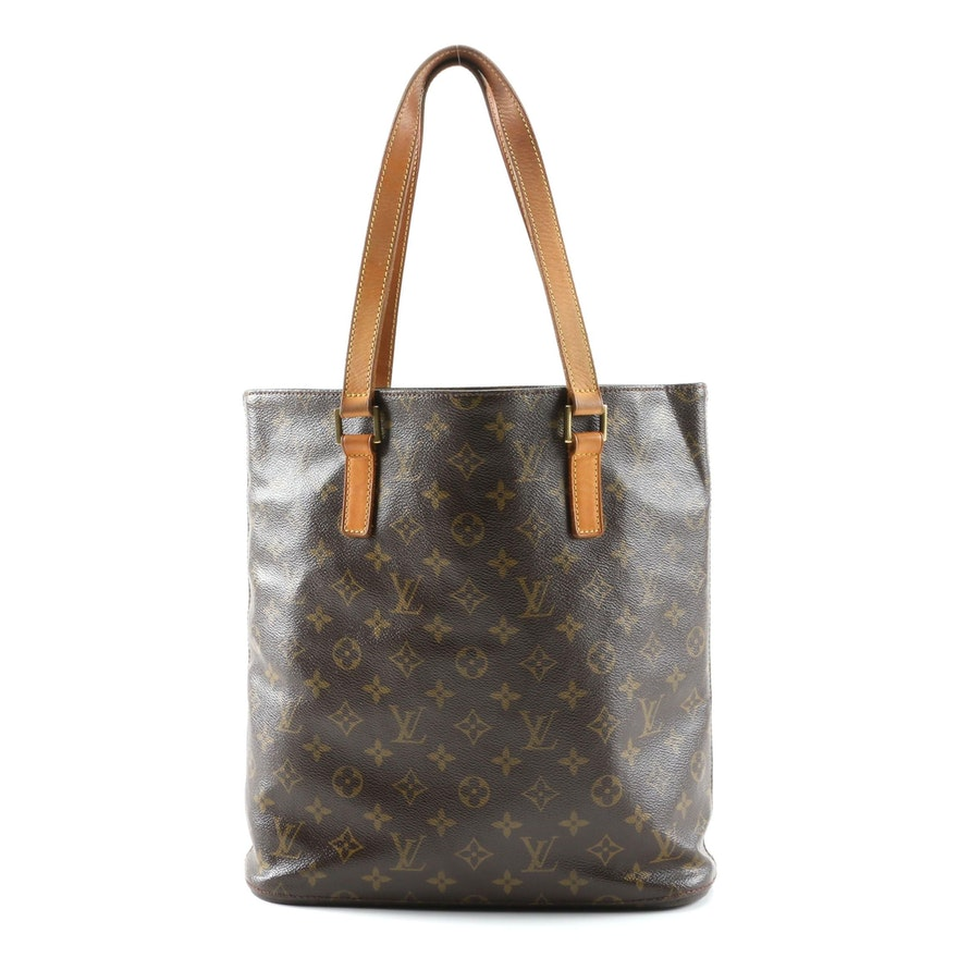 Louis Vuitton Vavin GM Tote in Monogram Canvas and Vachetta Leather
