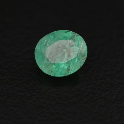 Loose 0.70 CT Emerald Gemstone
