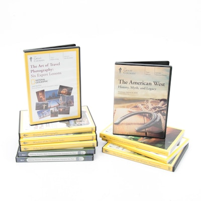 The Great Course Photography, History, National Parks and More DVD Sets