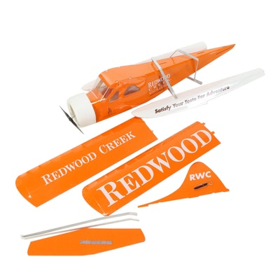 Redwood Creek Wines Promotional Seaplane Display Model