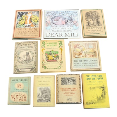 Maurice Sendak Illustrated Children's Book Collection including First Editions