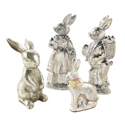 Spring and Easter Table Decor Featuring Katherine's Collection Figurines