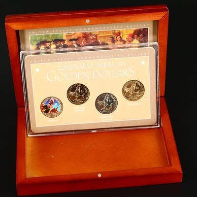 2013 Native American Dollar Four-Coin Set
