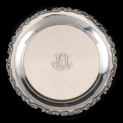 Tiffany & Co. Sterling Silver Wine Bottle Coaster, 1892 - 1902