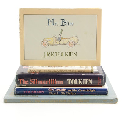 "J.R.R. Tolkien Book Collection featuring First Printing ""Smith of Wootton Major"""