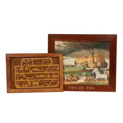 Noah's Ark Themed Wall Decor