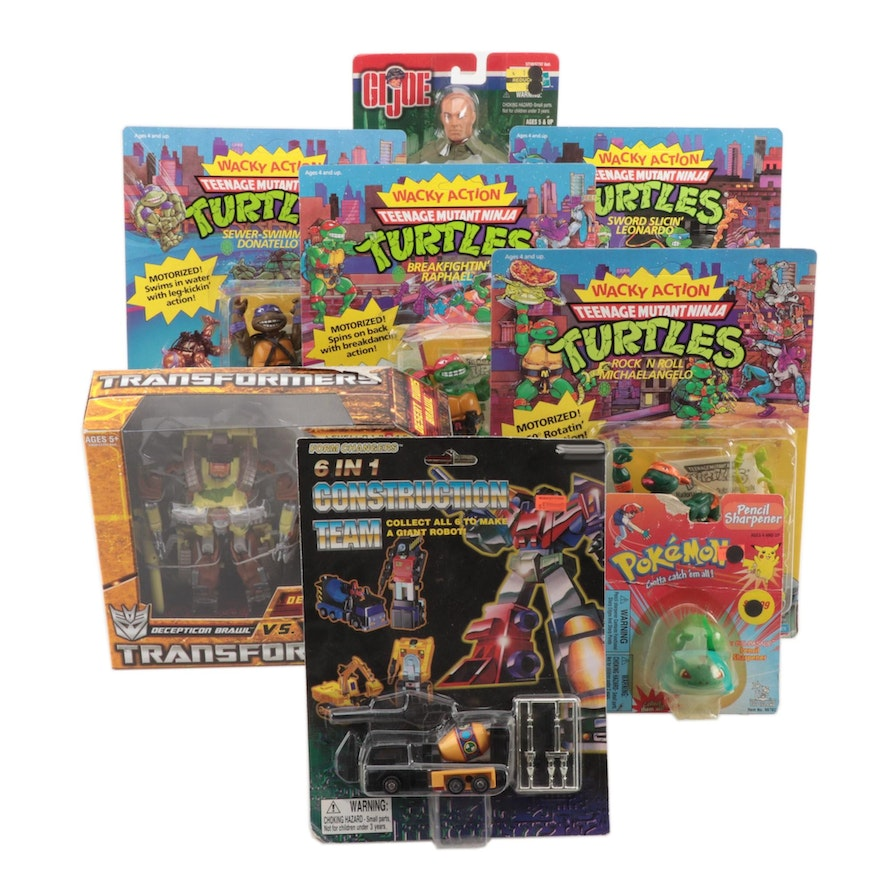 Wacky Action Teenage Mutant Ninja Turtle Action Figures and More