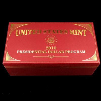 2010 Twelve-Coin Presidential Dollar Set