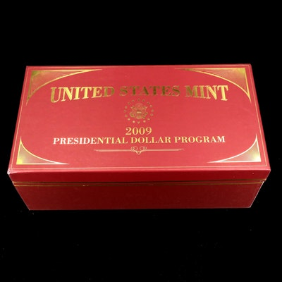2009 Twelve-Coin Presidential Dollar Set