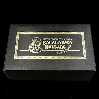 Sacagawea Dollar Proof and Uncirculated Collection