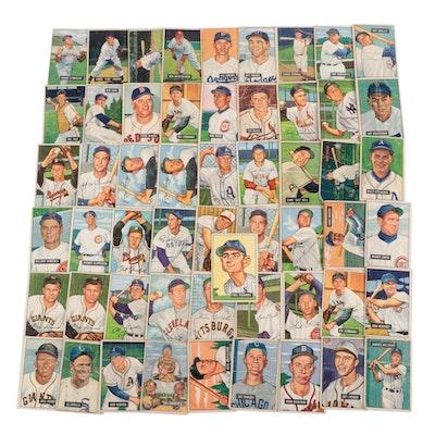 1951 and 1952 Bowman Baseball Cards