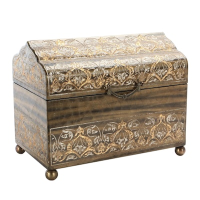 Castilian Imports Inc. Chest Style Box, Contemporary