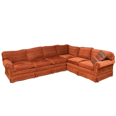 Fortner Chenille Sectional Sofa, 2000s
