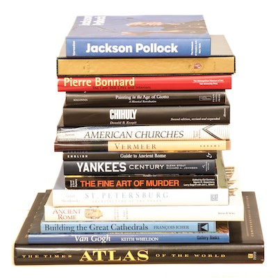 Art, Travel and Leisure Themed Coffee Table Books