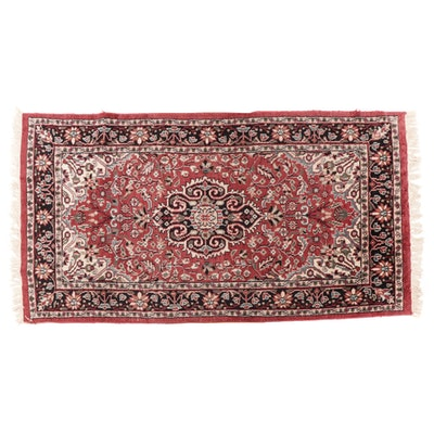 2'8 x 5'5 Hand-Knotted Persian Tabriz Accent Rug