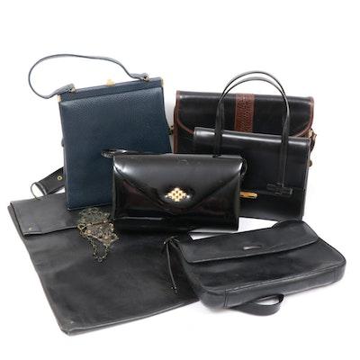 Saks Fifth Avenue, Sarne and More Handbags, Mid to Late 20th Century