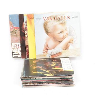 The Sex Pistols, Don McLean, The Beatles, Van Halen and Other Vinyl Records