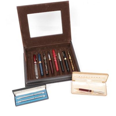 Sheaffer, Minka, Wearever and Receife Fountain Pens,Mechanical Pencils and Pens