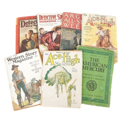 Detective Story Magazine and Other Weekly Magazines, 1920s