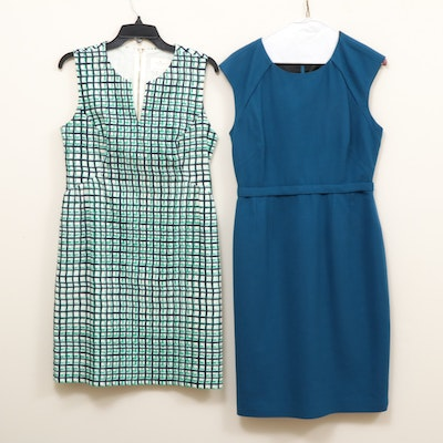 Kate Spade New York and Elie Tahari Sleeveless Dresses