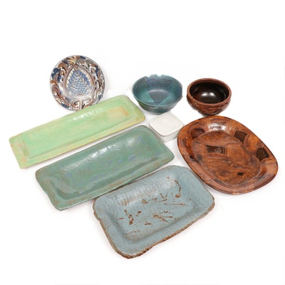 Gail Russell of Peachblow Pottery and More Tableware, Mid-Century