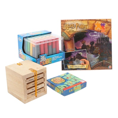 Harry Potter and the Sorcerer's Stone Family Jigsaw Puzzle and Other Games