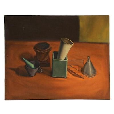 Anita Dawson Still Life Oil Painting, Late 20th Century