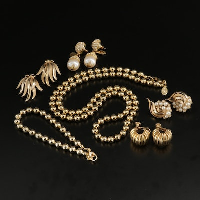 Assorted Designer Jewelry Including Trifari, Heidi Daus and More
