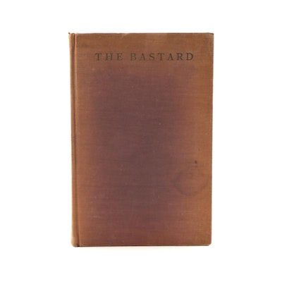 "First Limited Edition ""The Bastard"" by Erskine Caldwell, 1929"