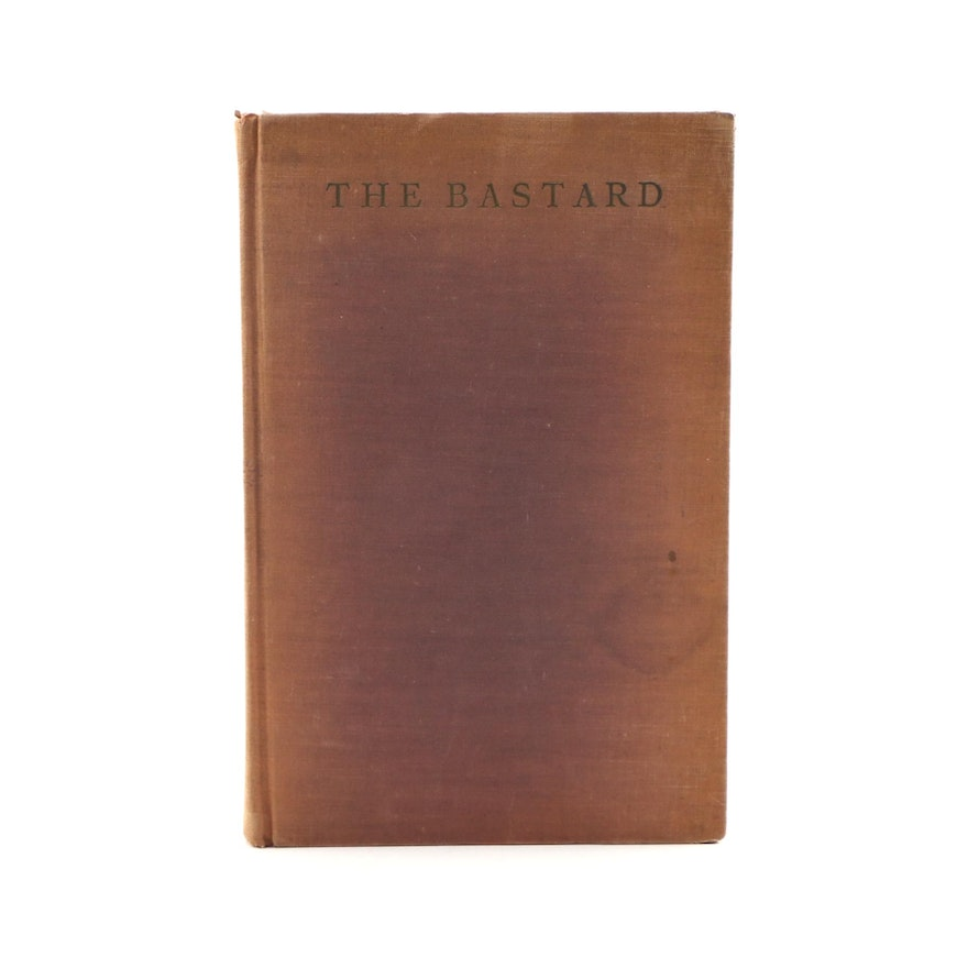 """First Limited Edition """"The Bastard"""" by Erskine Caldwell, 1929"""