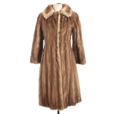 Marten Fur Coat, Vintage