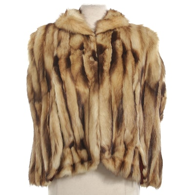 Fitch Fur Capelet, Mid-20th Century