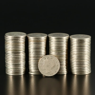 "Ninety-Three Liberty Head ""V"" Nickels"