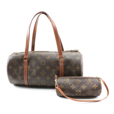 Louis Vuitton Papillon 30 and Mini Papillon in Monogram and Leather