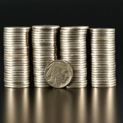 100 Buffalo Nickels