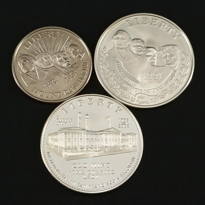 Two U.S. Commemorative Coin Sets
