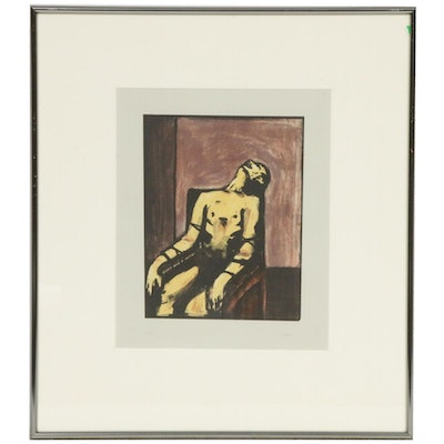 "John Lysak Lithograph ""Untitled (Lethal Injection)"""